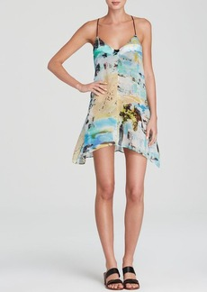 MILLY Miami Mirage Print Dress Swim Cover Up