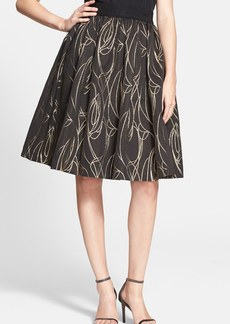 Milly 'Monica' Metallic A-Line Skirt