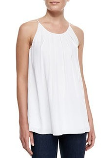 Milly Pleated Cut-In Flowy Tank