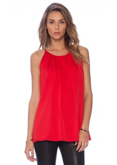 MILLY Pleated Tank