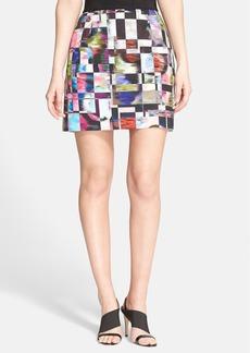 Milly Print Skirt