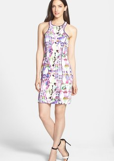 Milly Print Stretch Body-Con Dress
