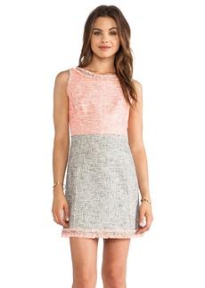 MILLY Raw Edge Dress