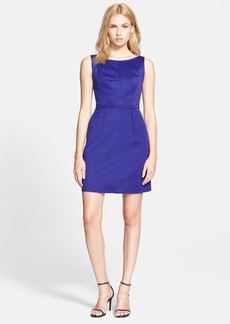 Milly Seamed Detail Shift Dress