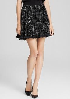 MILLY Skirt - Fringe Tweed Circle