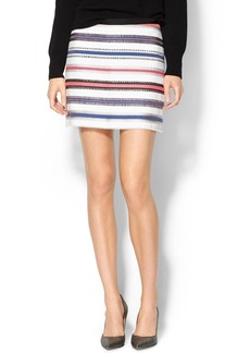 Milly Star Jacquard Mini Skirt