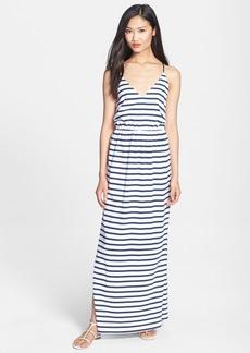 Milly Stripe Jersey Maxi Dress