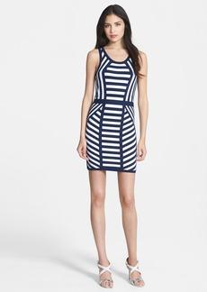 Milly Stripe Knit Tank Dress