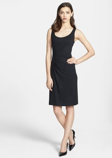Milly 'Tucked' Jersey Sheath Dress