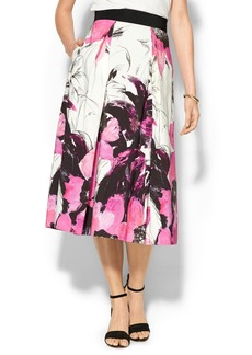 Milly Winter Orchid 3/4 Skirt