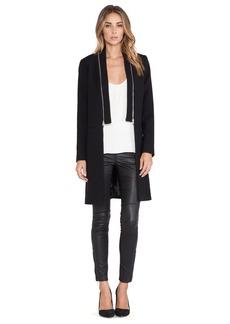 MILLY Zip Coat
