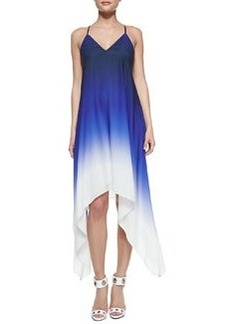 Ombre High-Low Sleeveless Dress   Ombre High-Low Sleeveless Dress
