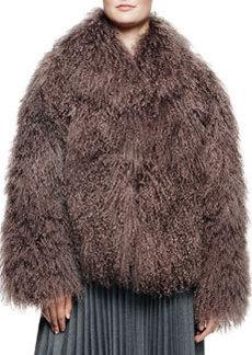 Richelle Mongolian Lamb Fur Jacket   Richelle Mongolian Lamb Fur Jacket
