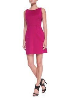 Seamed Sleeveless Knit Dress   Seamed Sleeveless Knit Dress