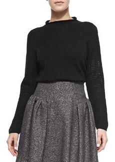 Wool High-Neck Sweater   Wool High-Neck Sweater