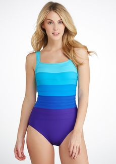 Miraclesuit + Spectra Band-It Square Neck Swimsuit