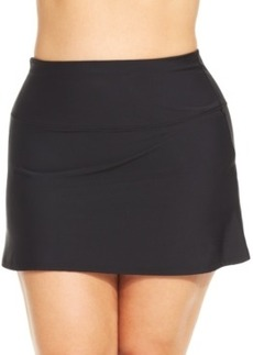 Miraclesuit Fit-and-Flare Solid Swim Skirt Women's Swimsuit