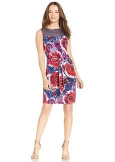 Miraclesuit Illusion-Neck A-Line Dress
