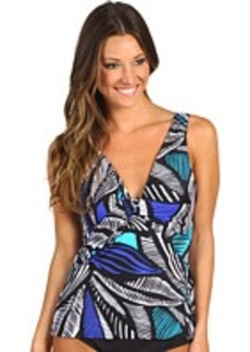 Miraclesuit Leaf Peepers Trysted Tankini Top