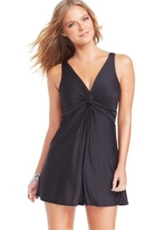 Miraclesuit Marais V-Neck Swimdress Women's Swimsuit