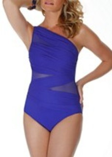 Miraclesuit Network Jena Wire-Free One-Shoulder Swimsuit
