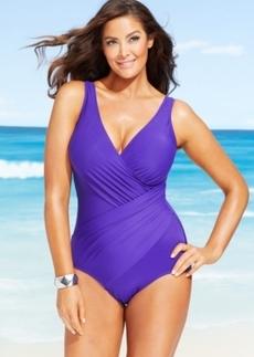 Miraclesuit Plus Size Oceanus One-Piece Swimsuit Women's Swimsuit