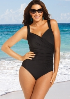 Miraclesuit Plus Size Sanibel One-Piece Swimsuit Women's Swimsuit