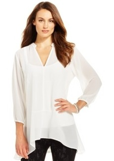 Miraclesuit Shaping Chiffon Tunic Top