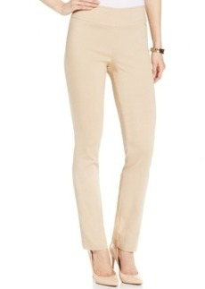 Miraclesuit Shaping Straight-Leg Pull-On Pants