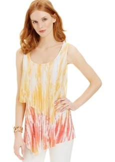 Miraclesuit Shaping Tie-Dye Tiered Top