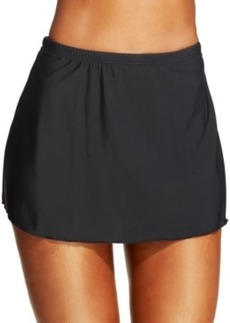 Miraclesuit Solid Swim Skirt Women's Swimsuit