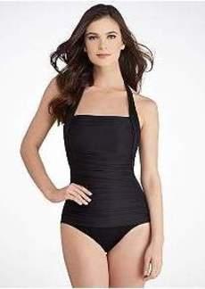 Miraclesuit Solids Cimarron Halter Swimsuit