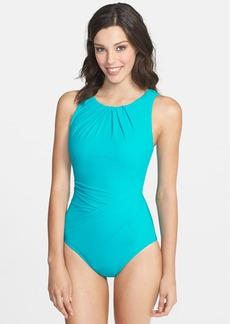 Miraclesuit® 'Asbury' High Neck One-Piece Swimsuit