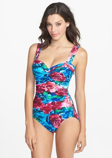 Miraclesuit® 'Photo Rose Aspen' One-Piece Swimsuit