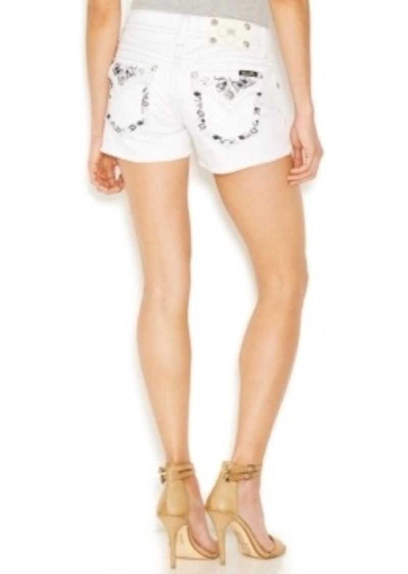 Miss Me Miss Me Embellished Pocket Short Shorts, Macy's ...