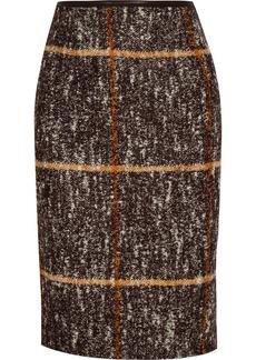 Missoni Checked wool-blend pencil skirt