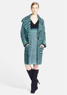Missoni Long Chunky Knit Cashmere & Wool Coat