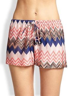 Missoni Mare Chevron-Print Shorts