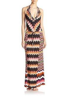 Missoni Mare Halter Maxi Dress