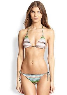 Missoni Mare Reversible String Two-Piece Bikini