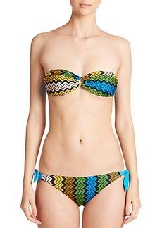 Missoni Mare Two-Piece Zigzag Bandeau Bikini