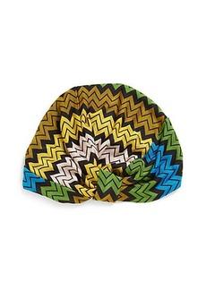 Missoni Mare Zig-Zag Knit Turban