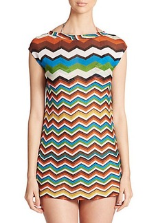 Missoni Mare Zigzag Mini Dress