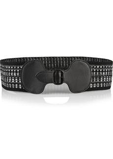 Missoni Metallic knitted belt