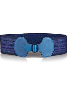 Missoni Metallic stretch-knit waist belt