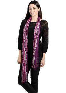 Missoni Multi Squiggly Pattern Scarf