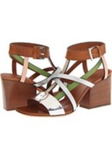 Missoni Multi Strap Leather Sandal