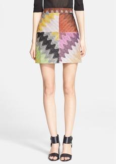 Missoni Multicolor Wave Stitch Miniskirt
