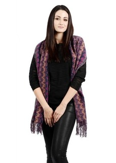 Missoni Ombre squiggly pattern scarf