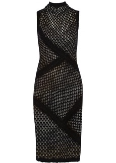 Missoni Open-knit bouclé dress